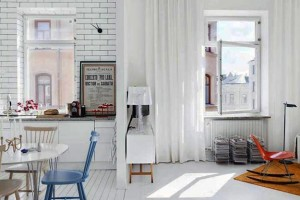 modern-kitchen-dining-room-white-painted-brick-wall-8
