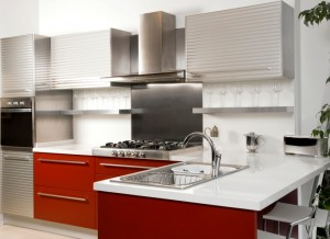 red+kitchen+design