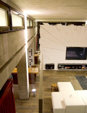 textured-feature-wall-entertainment-unit