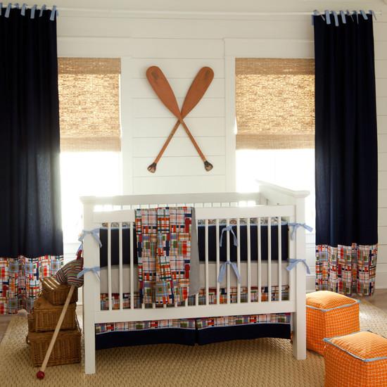 Морской стиль в интерьере детской комнаты
