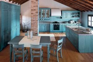 Amazing-Blue-Kitchen