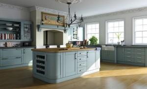 Classy-Blue-Kitchen