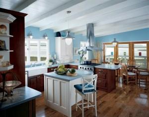 Elegant-Blue-Kitchen