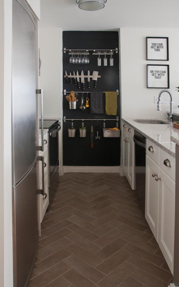 Способ хранение кухонных приборов при ограниченном пространстве
