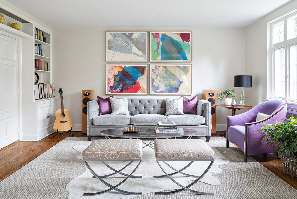Интерьер серые стены белая мебель