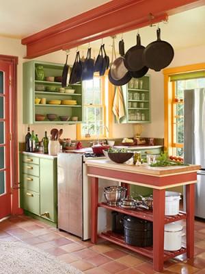 интерьр кухни в деревенском стиле