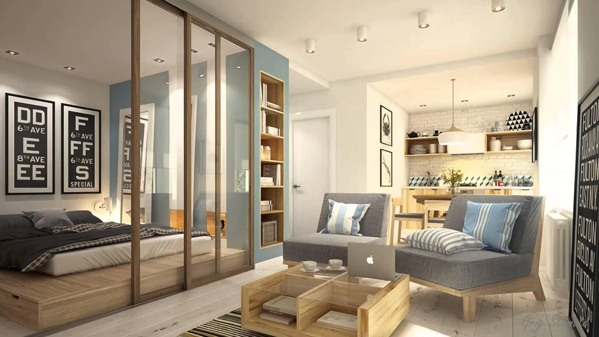 Дизайн проект гостиной 40 квм