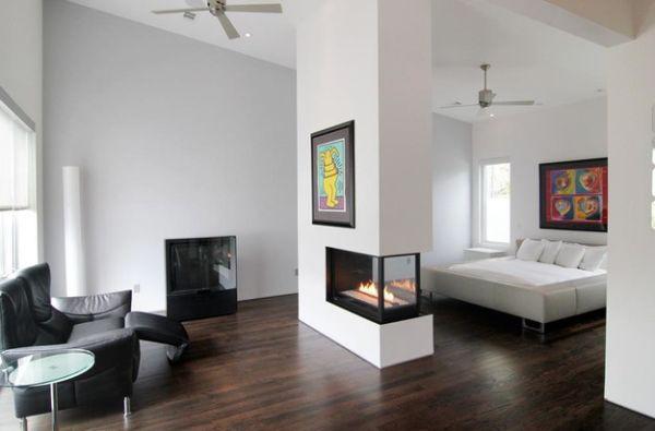 дизайн гостиной-спальни