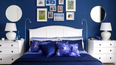 Психологическая эстетика синей спальни