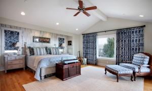 Синяя спальня - 112 фото примеров