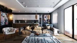 black-wall-studio-apartment