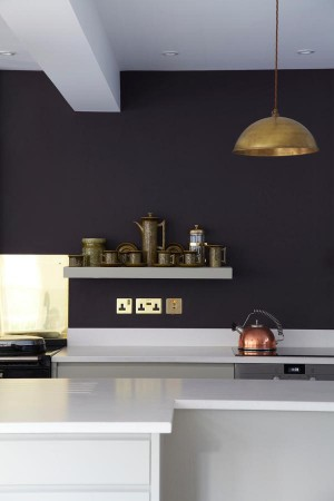 dark-gray-walls-and-open-shelves