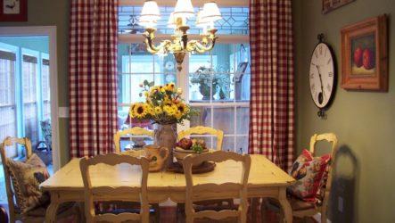 Деревенская романтика на вашей кухне