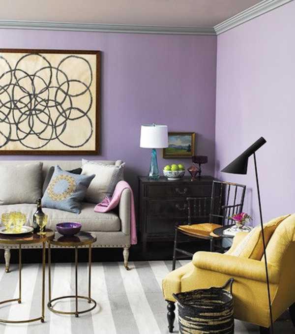 1065 Best Images About Interiors Color Combinations On: Interior-colors-purple-color-schemes-6