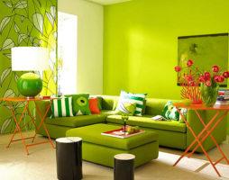 Фисташковый цвет – позитив в интерьере