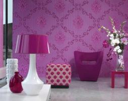 Фиолетовый цвет – бог в интерьере