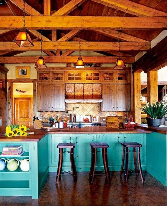 кухни в деренском стиле