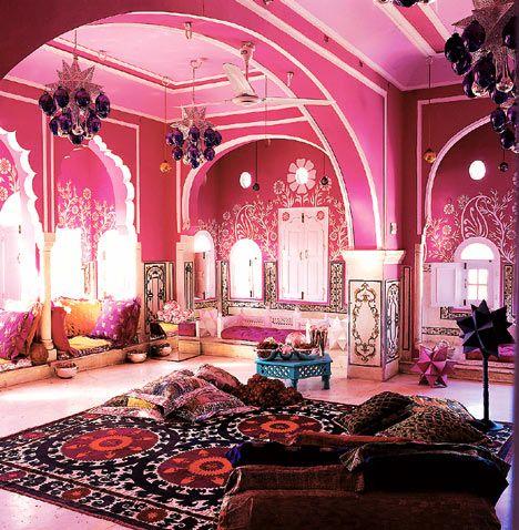 интерьер в индийском стиле