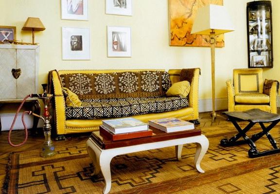 Интерьер в африканском стиле - 84 фото примера