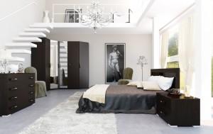 4-Black-and-white-brown-bedroom-mezzanine