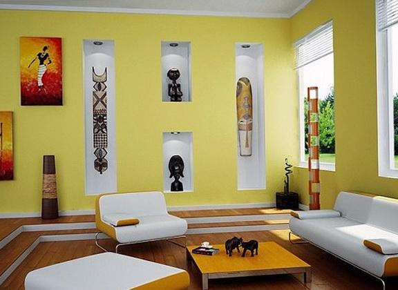 84 - Estilos de pintura para interiores ...