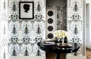 black-blue-feminine-wallpaper-art-nouveau-Janet-Rice-home-from-the-Lennox