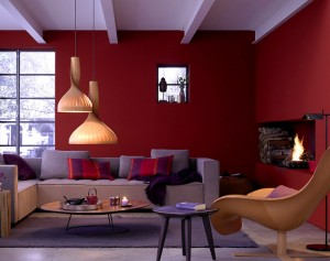 bold-burgundy-purple-color-living-room-decorating-idea