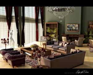 classic-design-plum-green-scheme-by-hayriyepinar