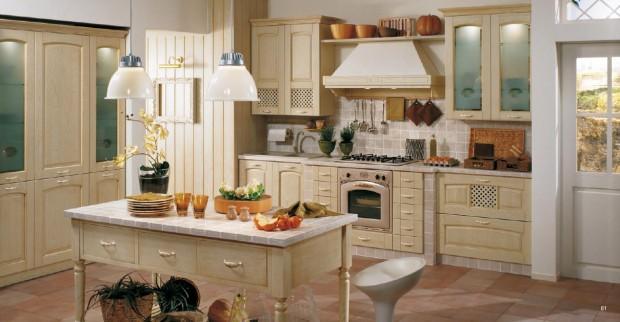 кухняв ретро-стиле