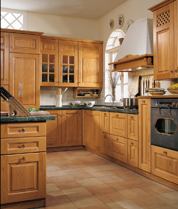кухня в ретро-стиле