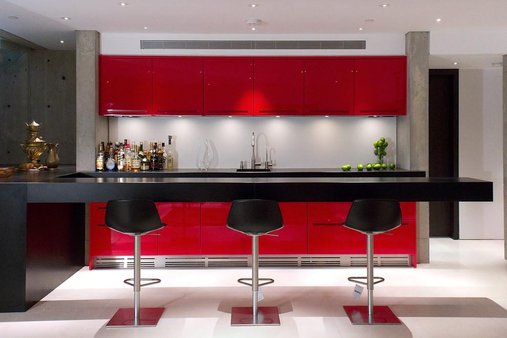 Дизайн кухни для маленькой студии 27