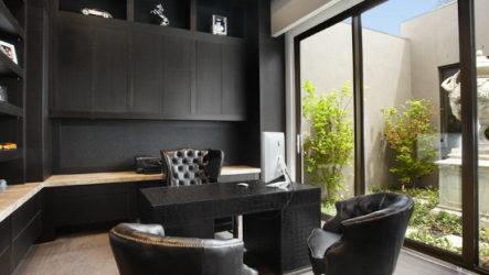 Черный цвет в интерьере — символ аристократичности и роскоши
