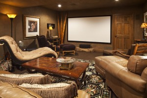 eclectic-home-theater