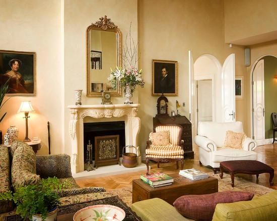 гостиные в классиечском стиле