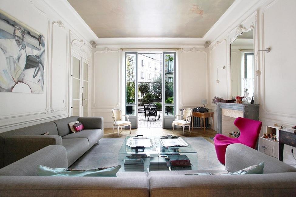 Интерьер французских квартир фото