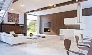 mod-retro-marble-white-and-brown-living-area