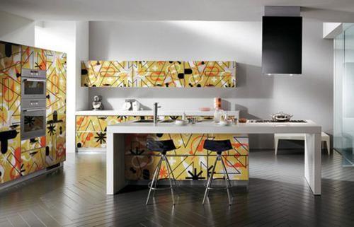 кухня в японской стиле