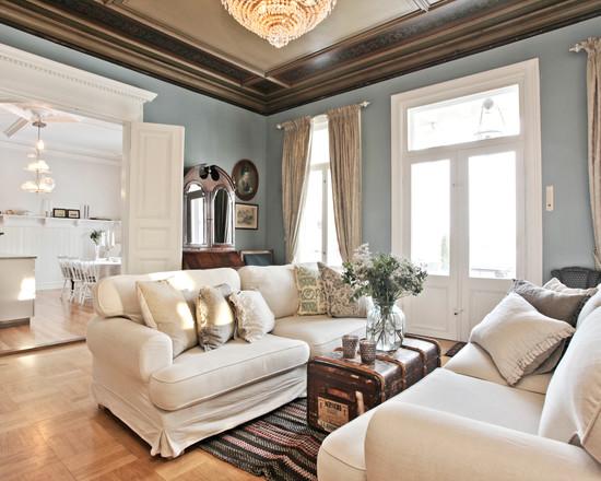 гостиная в классиечском стиле