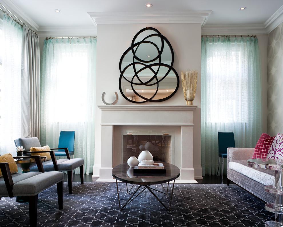 Зеркало для гостинной дизайн