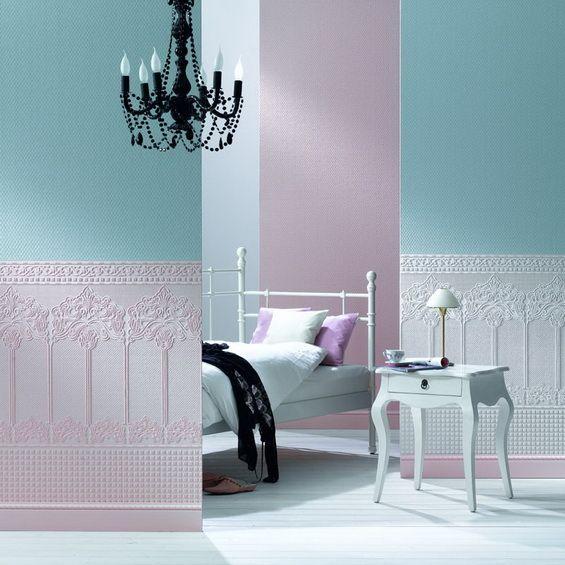 обои под покраску на флизелиновой основе с фактурным рельефом добавляют роскошь в интерьере