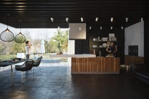 Стиль хай-тек в дизайне интерьера кухни - 48 фото примеров