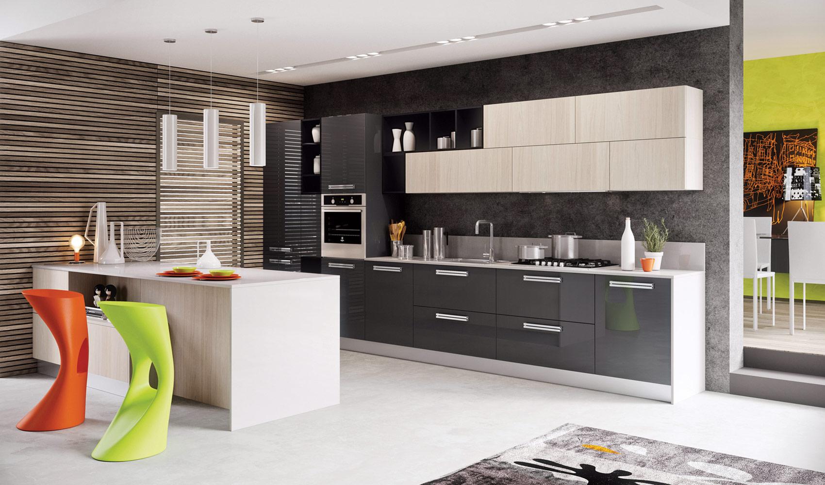 Стильные кухни 2016 фото