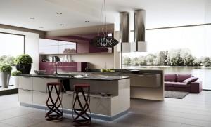 5-Purple-kitchen-units