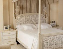Лояльность бежевого декора в спальнях