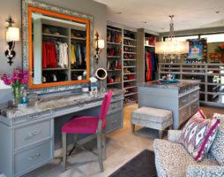 Дизайн гардеробной комнаты в Вашем доме