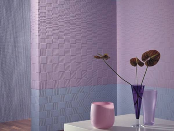 Обои под покраску – рациональное оформление декоров - 18 фото примеров