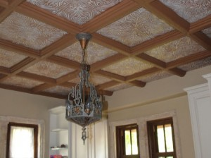 kitchen-with-wood-beam-and-styrofoam-ceiling