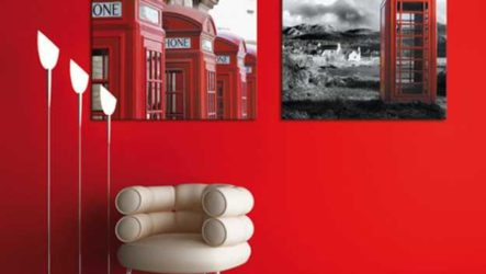 Красный интерьер – выбор смелых!