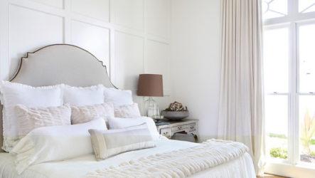 А у вас вся спальня белая!