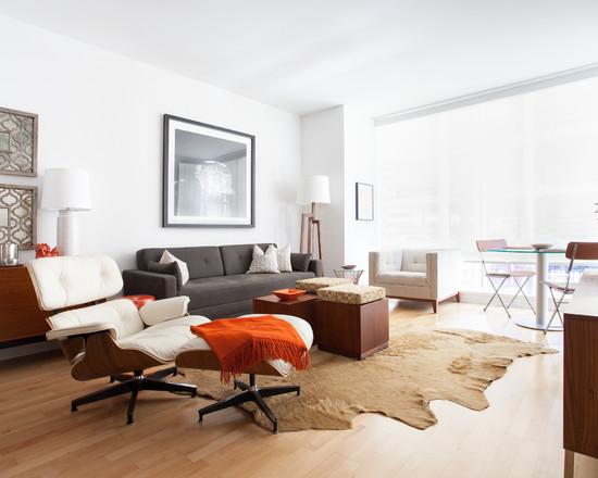 Contemporary living room 6 for Living room 6 portland